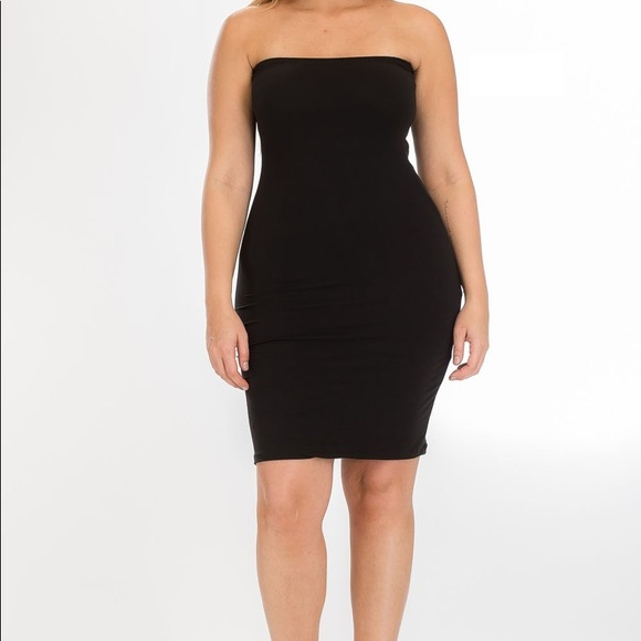 Plus Size Tube Dress NWT